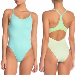 Outdoor Voices Dive One Piece Bathing Suit XS NWT